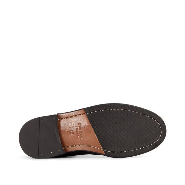 Hudson London Mens Keils Black Chelsea Boot Sole