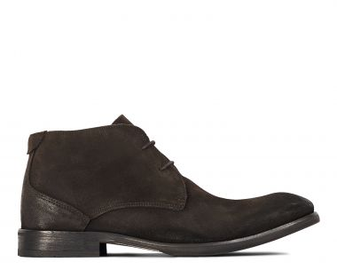 Hudson London Mens Cruise Suede Brown Chukka Boot Side