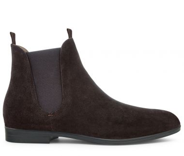 Atherstone Suede Brown Chelsea Boot