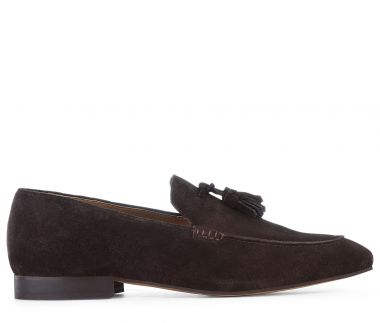 Bolton Suede Brown Loafer