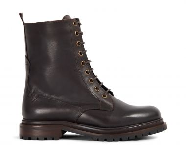 Hudson London Womens Resnick Brown Boot Side