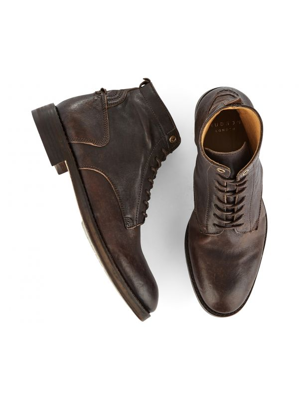 Lace Up Boot Gypsum Brown