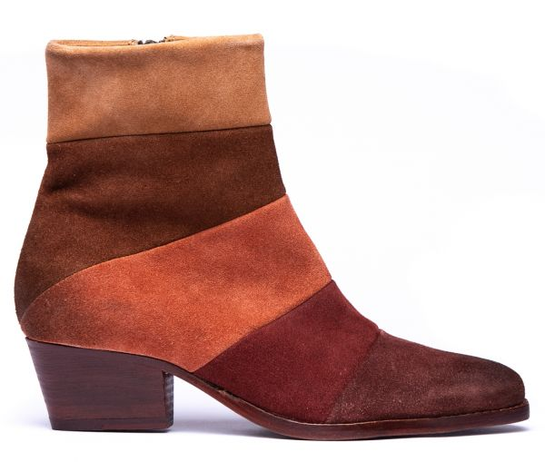 Astor Suede Tan Multi Boot