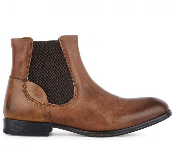 Chelsea Boot Azura Tan Side View