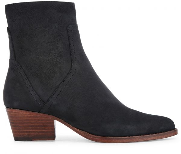 Beryl Nubuck Black Boot