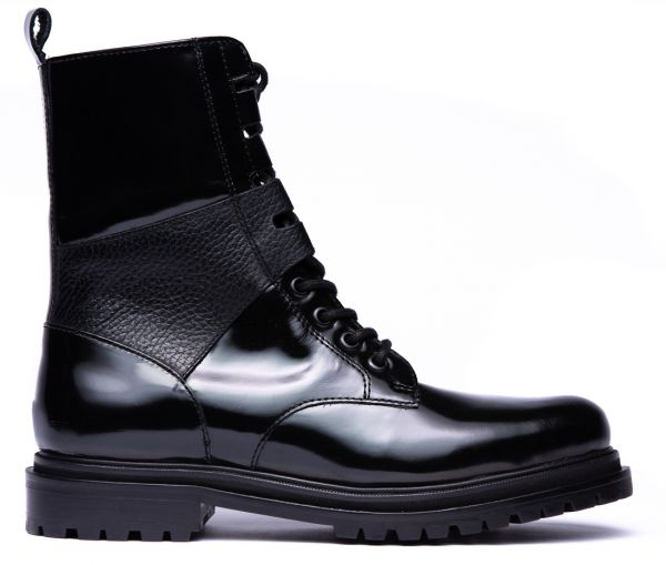 Womens Blair Black Boot Side