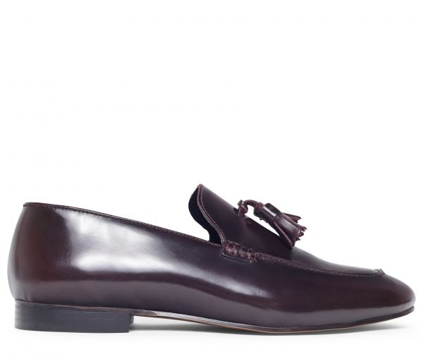 Bolton Hi Shine Bordeaux Loafer