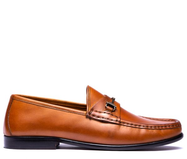 Cannonball Tan Snaffle Loafer
