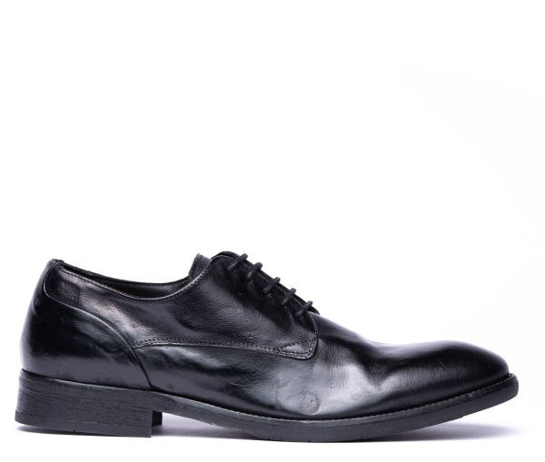 Dorsay Black Derby Shoe
