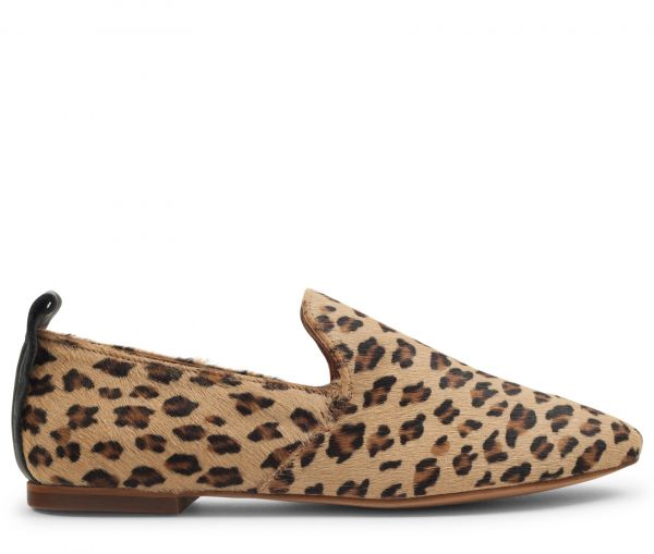 Hattie Pony Leopard Loafer