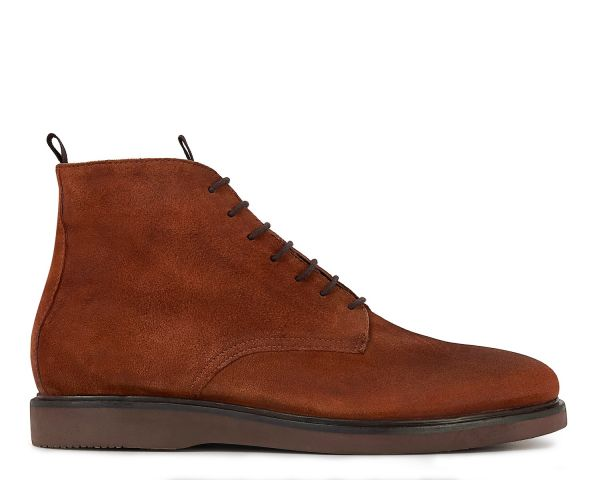 Mens Troy Suede Tan Boot Side