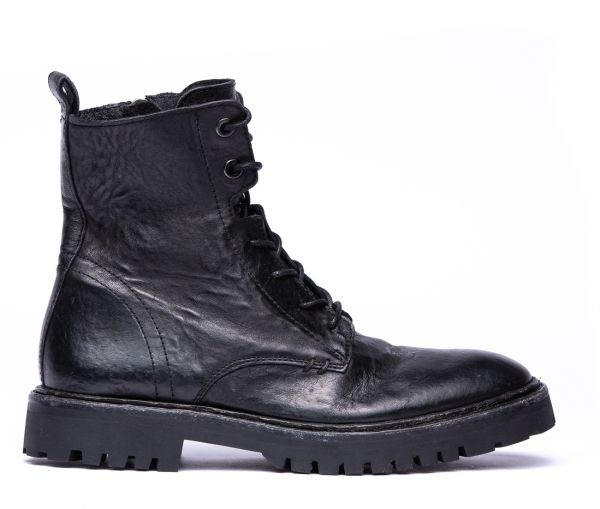 Linden Black Boot