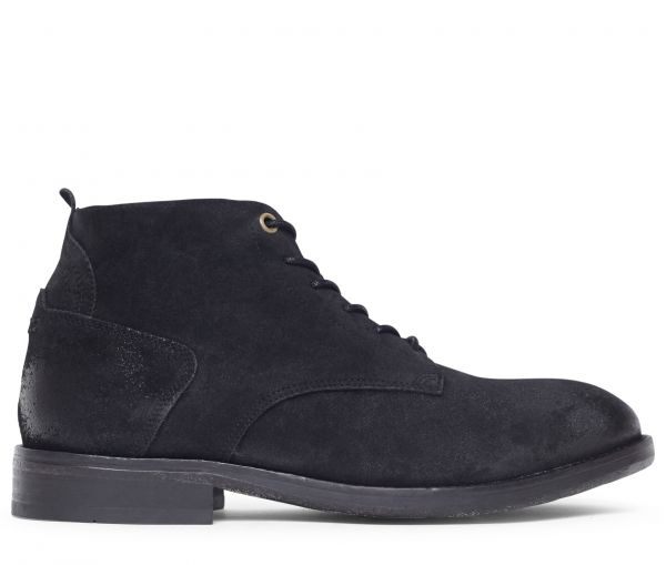 Morris Suede Black Boot