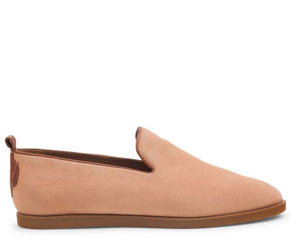 Parker Suede Blush Slip On Loafer