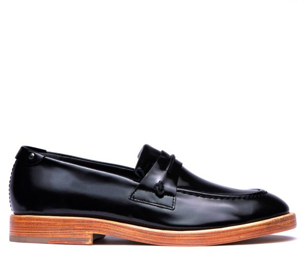 Stoke Black Loafer