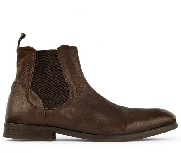 Chelsea Washed Boot Watchley Brown Side View