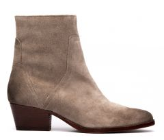 Beryl Suede Taupe Boot