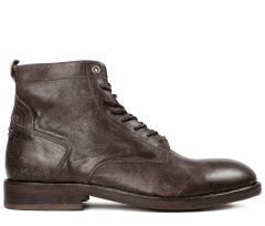 Lace Up Boot Mckendrick Brown Side View