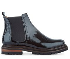 Wisty Patent Black Chelsea Boot