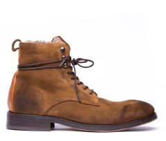 Yew Suede Caramel Boot